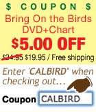 Coupon for Free California Bird Chart